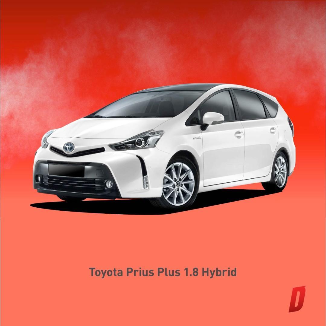 ⭐Brand new MPV Prius Plus Special Promo for Grab Driver⭐