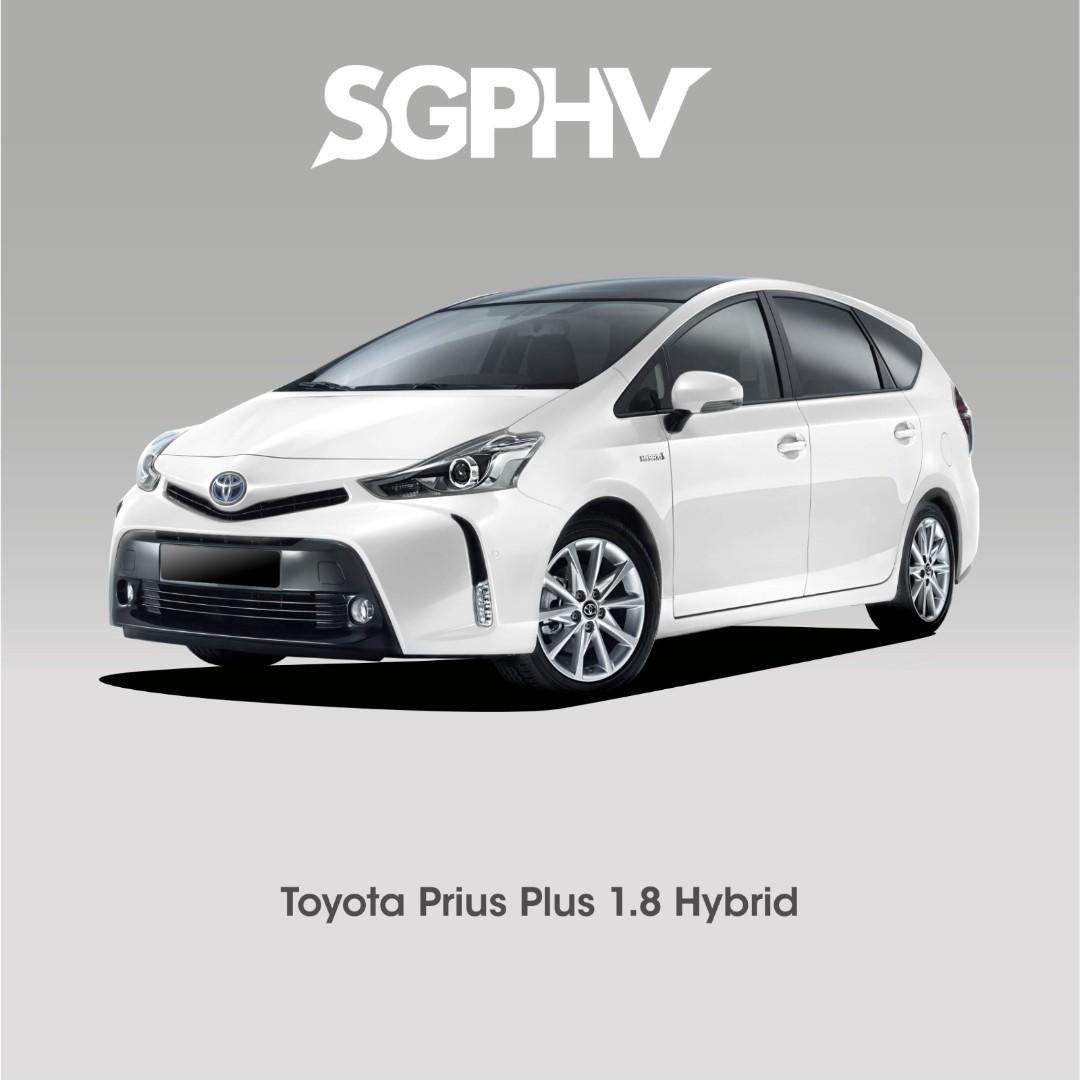 Brand New Toyota Prius Plus - Private Hire / Grab Use