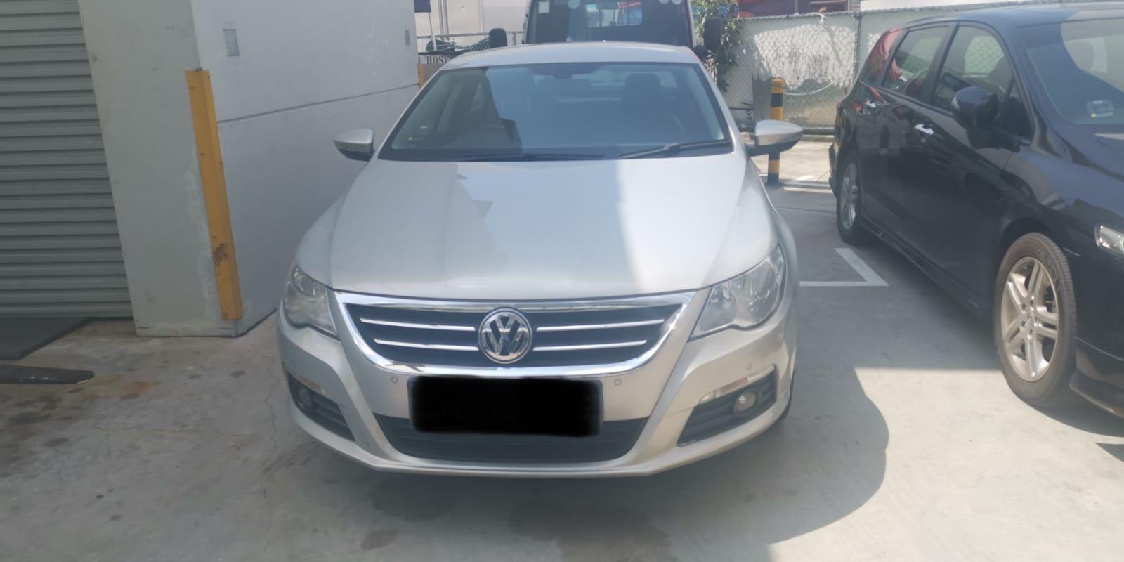 Continental Luxury Sedan for rental - Volkswagen Passat 1.8 CC TSI Auto