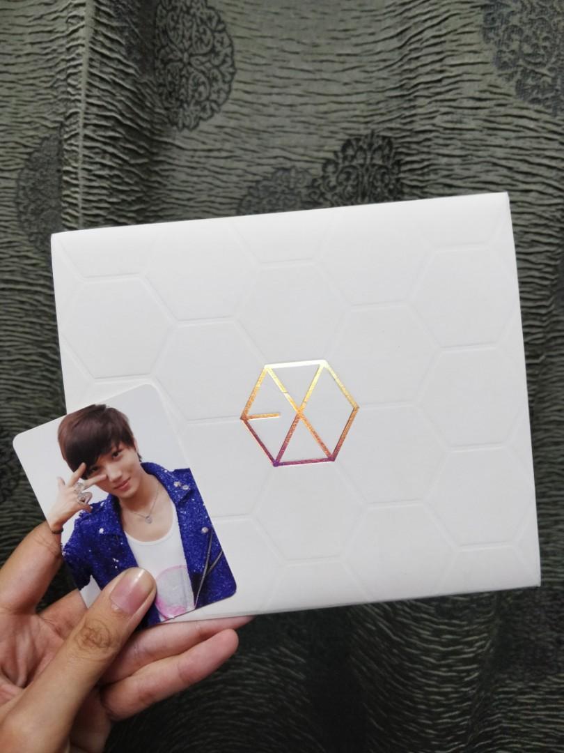 EXO-K The 1st Mini Album 'MAMA' with Kai photocard