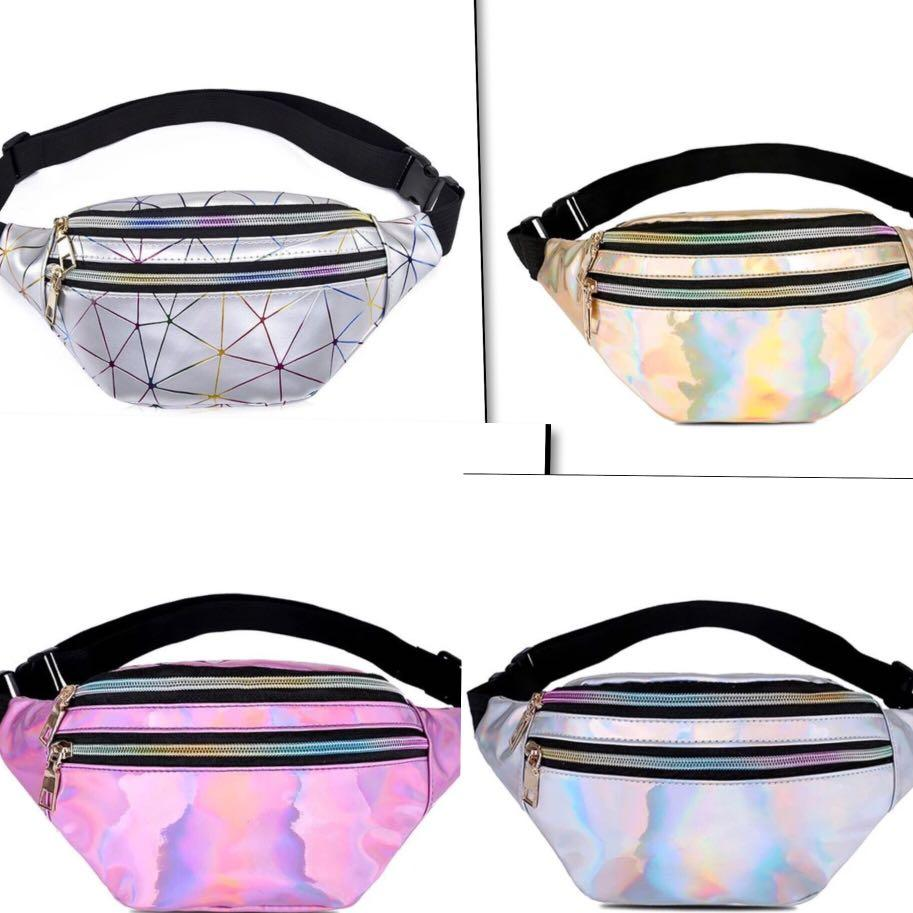 Fanny Packs Female Male Brand New Red Black Blue Gray Pink Purple