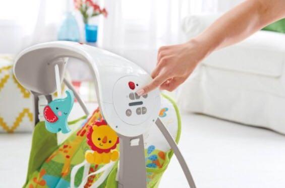 Fisher-Price Take Along 2in1 Swing And Seat Rocker Rainforest Friends