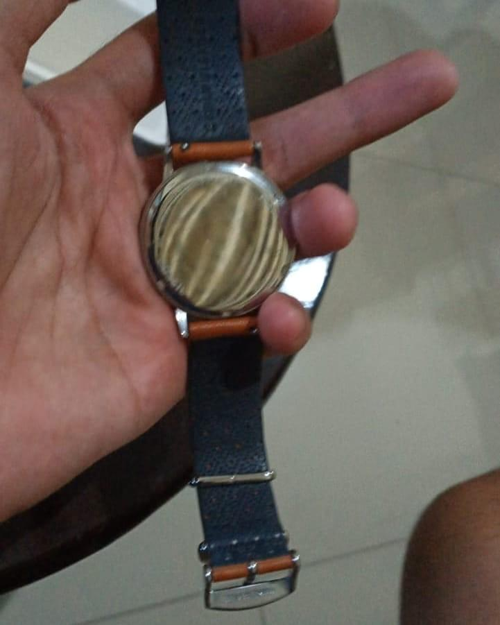 Fossil strap leather AUTH