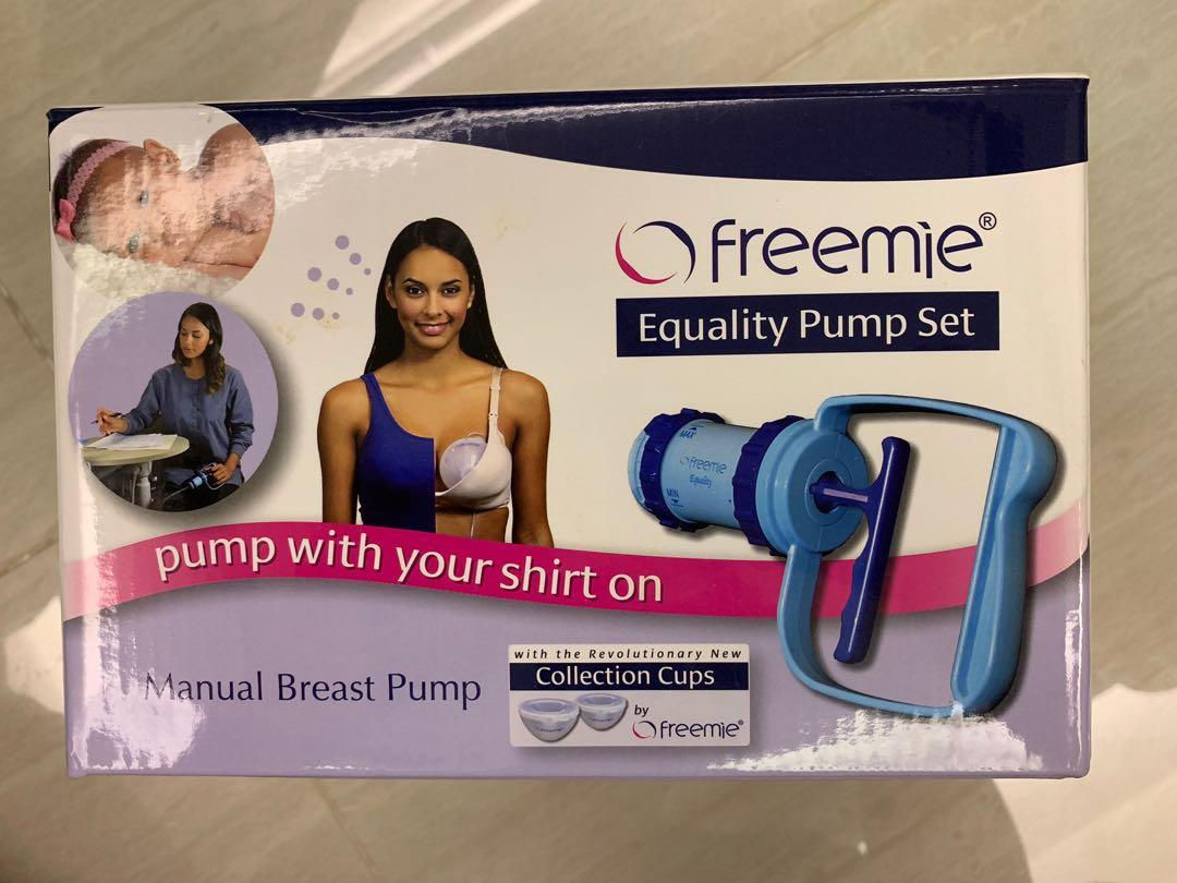 Freemie equality manual pump set
