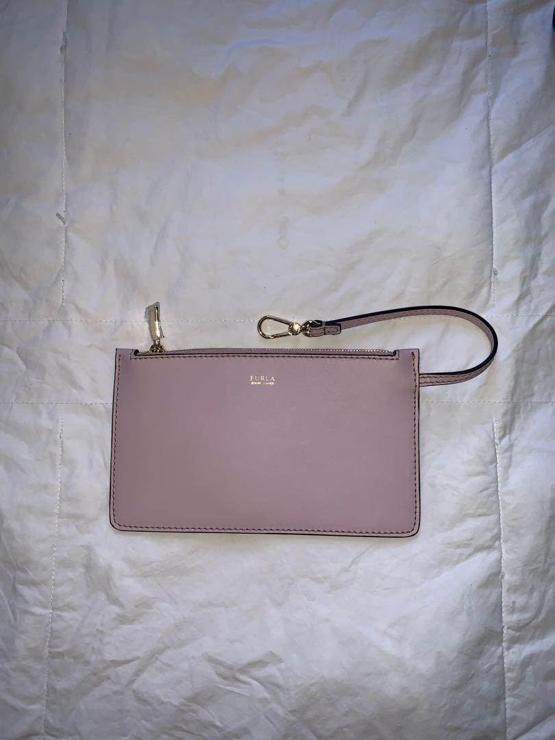 Furla Lilac Bucket Bag and Inner Envelope