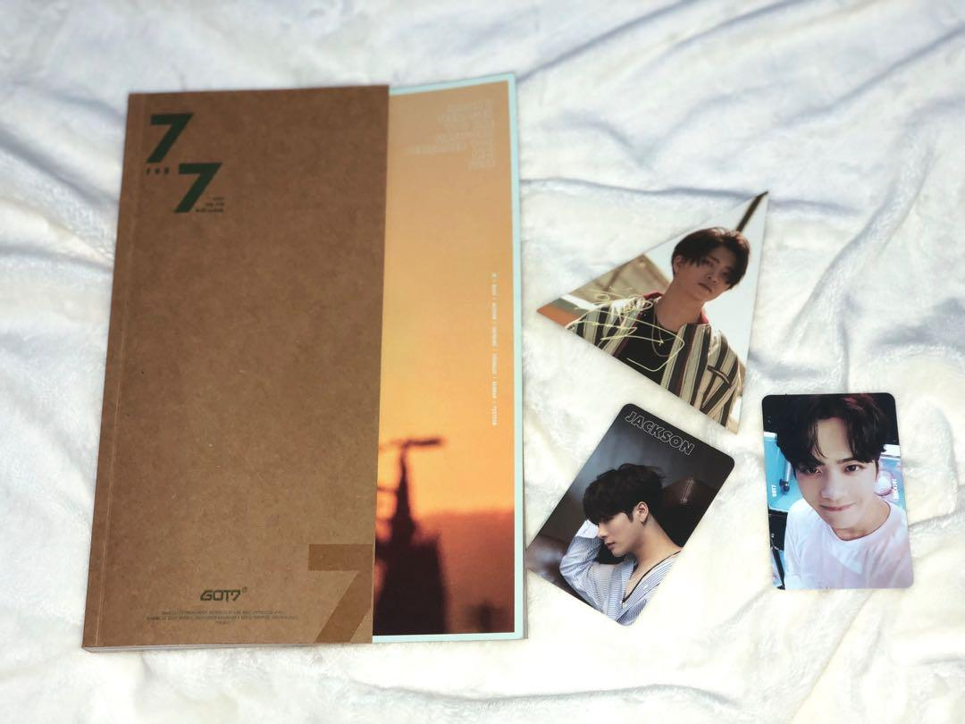GOT7 7th Mini Album 7 For 7 ( Golden Hour Version )