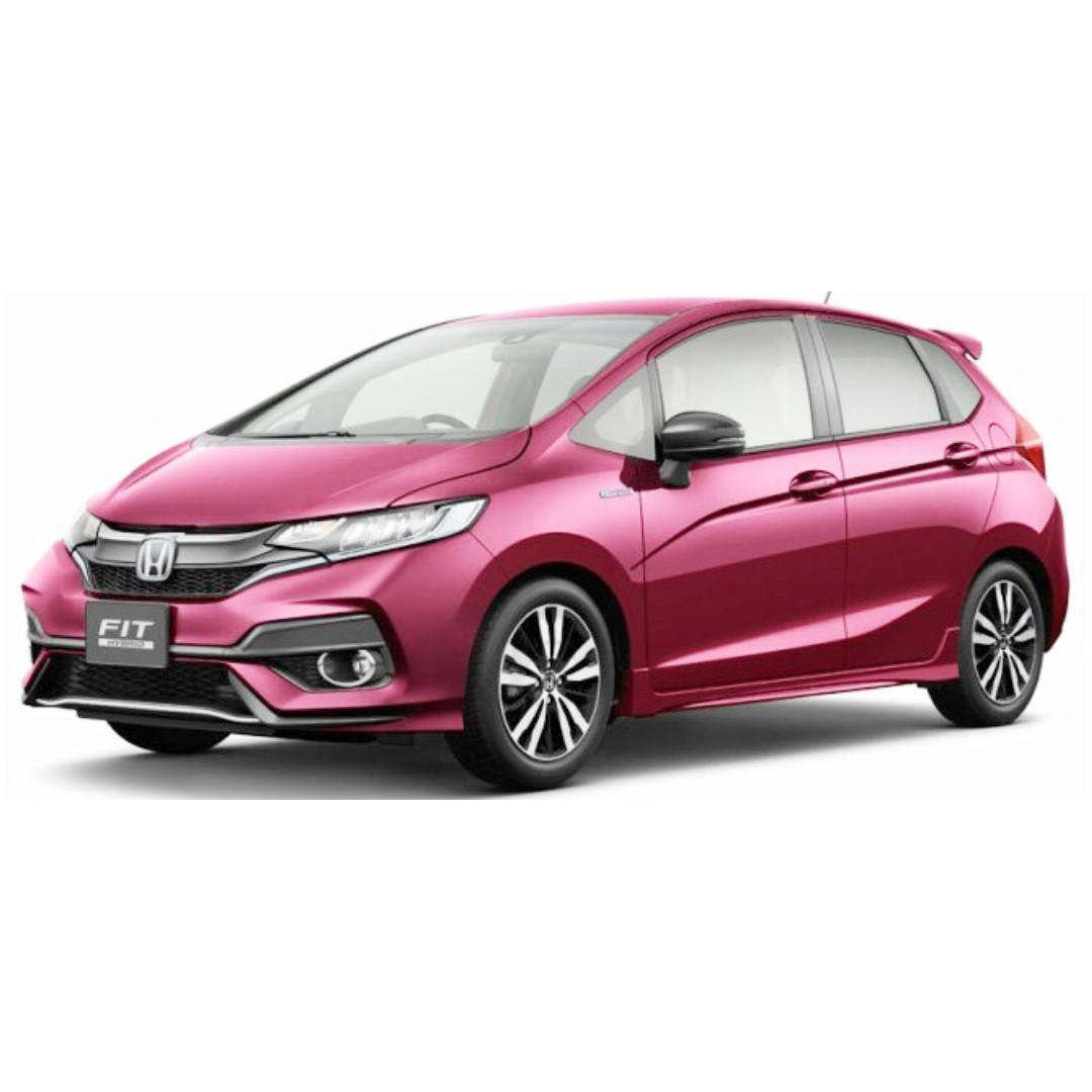 Honda Fit Hybrid 1.5L - Private Hire / Grab Use