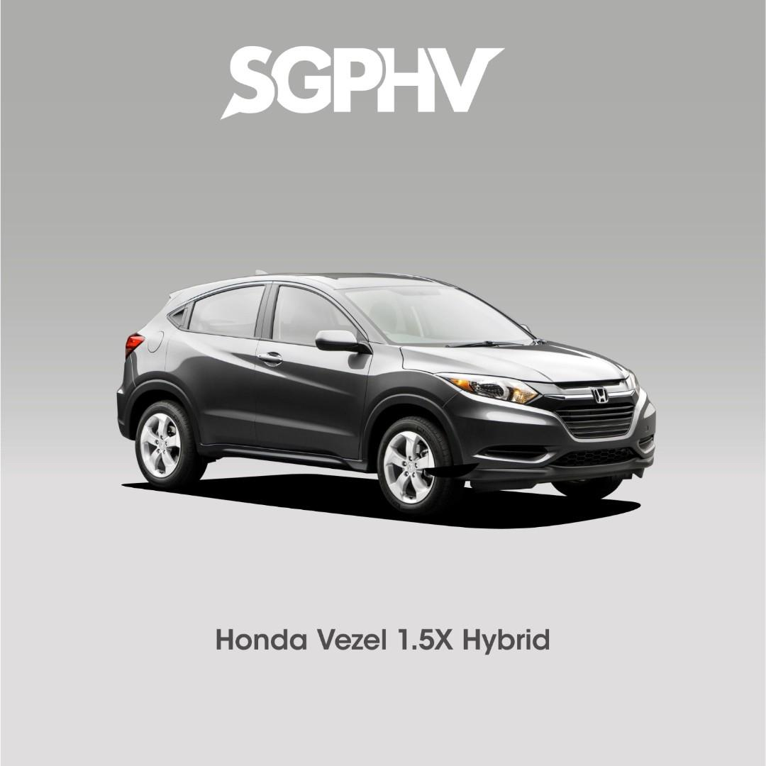 Honda Vezel Hybrid 1.5 - Private Hire / Grab Use