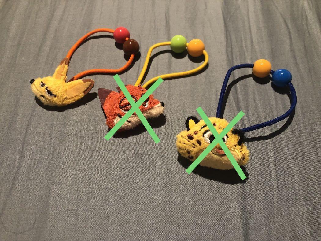 《包平郵》Hong Kong Disneyland Zootopia Finnick hair accessories hairband 香港迪士尼樂園 優獸大都會 費利 頭飾 髮圈 橡筋