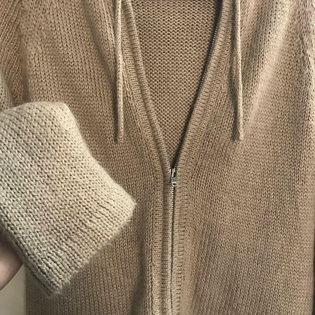 Hooded Knitted Sweater