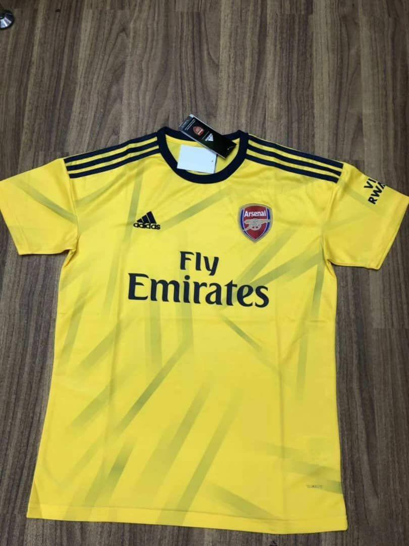 size 40 cc92c aa3ad Jersey Arsenal Away Kit 19/20