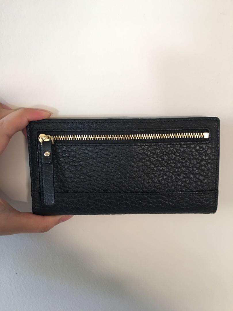 Kate Spade Black Signature Leather Wallet (Brand New & Authentic)