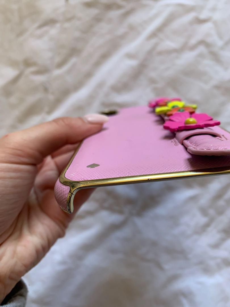 Kate Spade Floral Hand Strap Stand iPhone XS Max Case