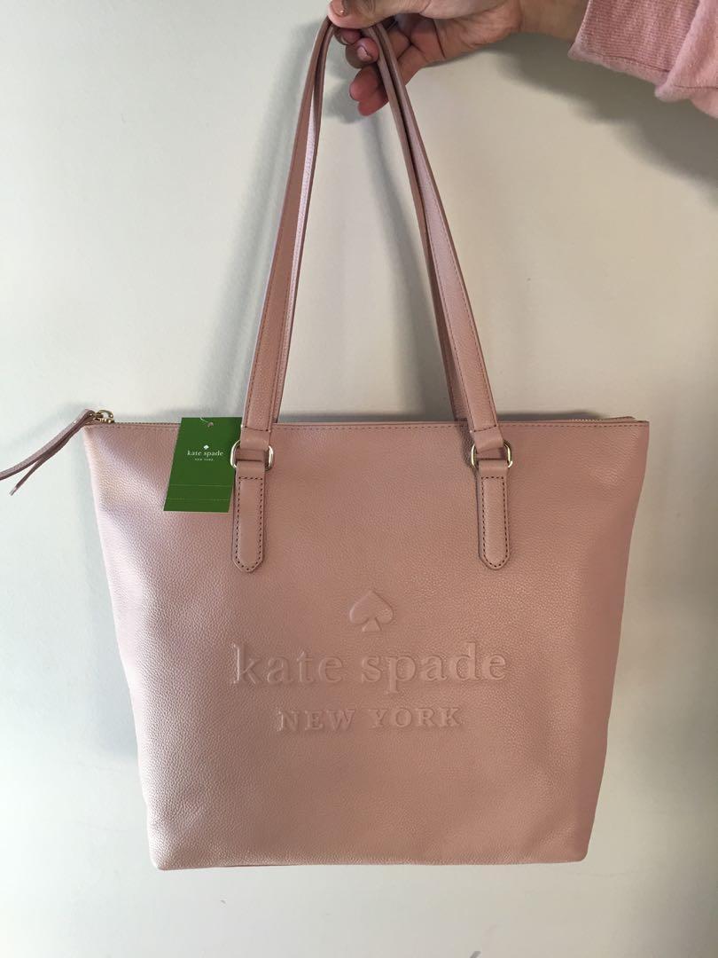 Kate Spade Pink Beige Medium Bag (Brand New & Authentic)