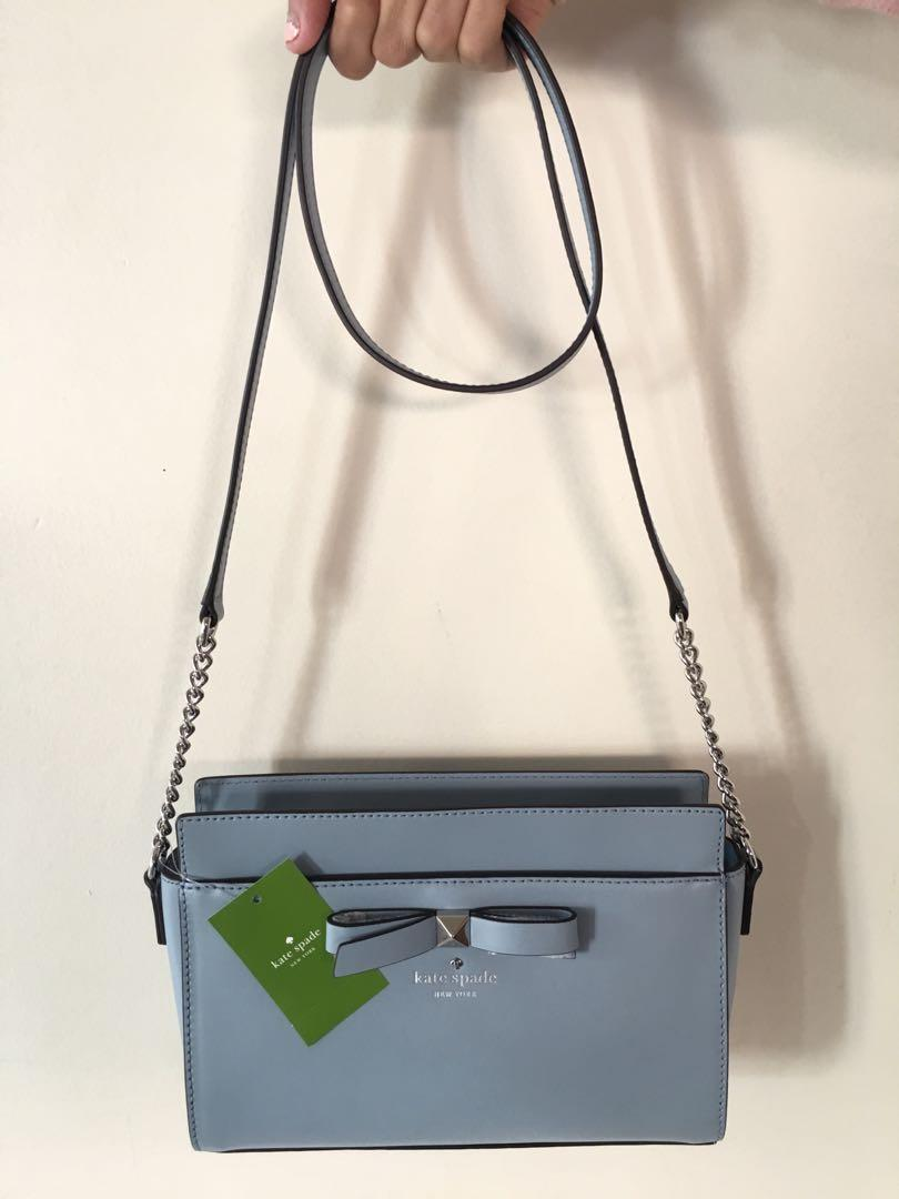 KATE SPADE Small Blue Shoulder Bag (Brand New & Authentic)