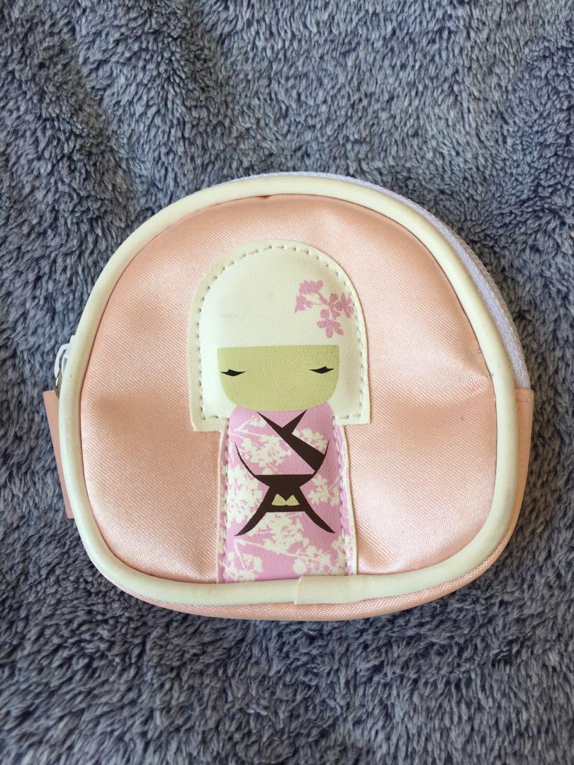 Kimmidoll Makeup Bag Coin Purse Bundle Collection 2008-2009 Y2K 2000s Kawaii