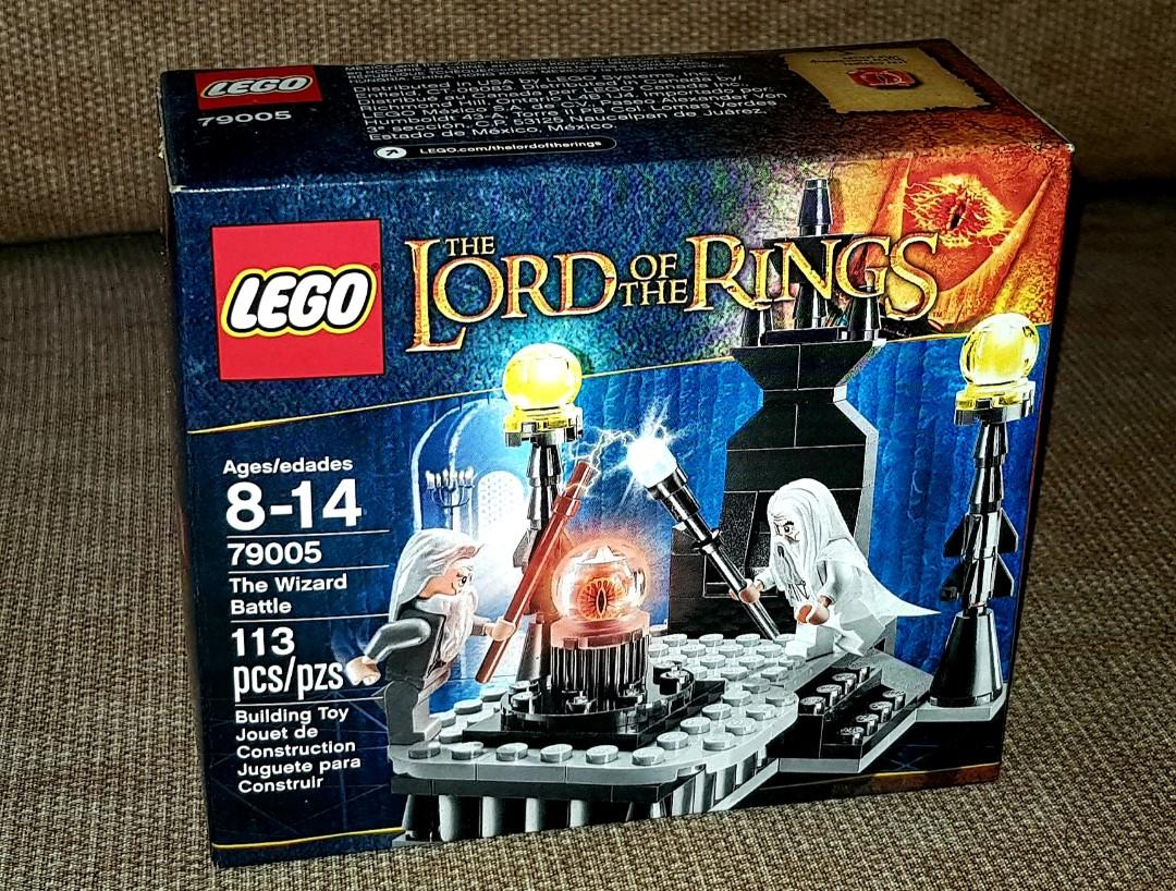 LEGO 79005 Lord of the Rings THE WIZARD BATTLE Set on Carousell