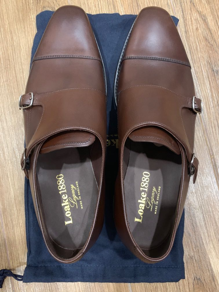 Loake 1880 Legacy Monk Shoes, UK9 and