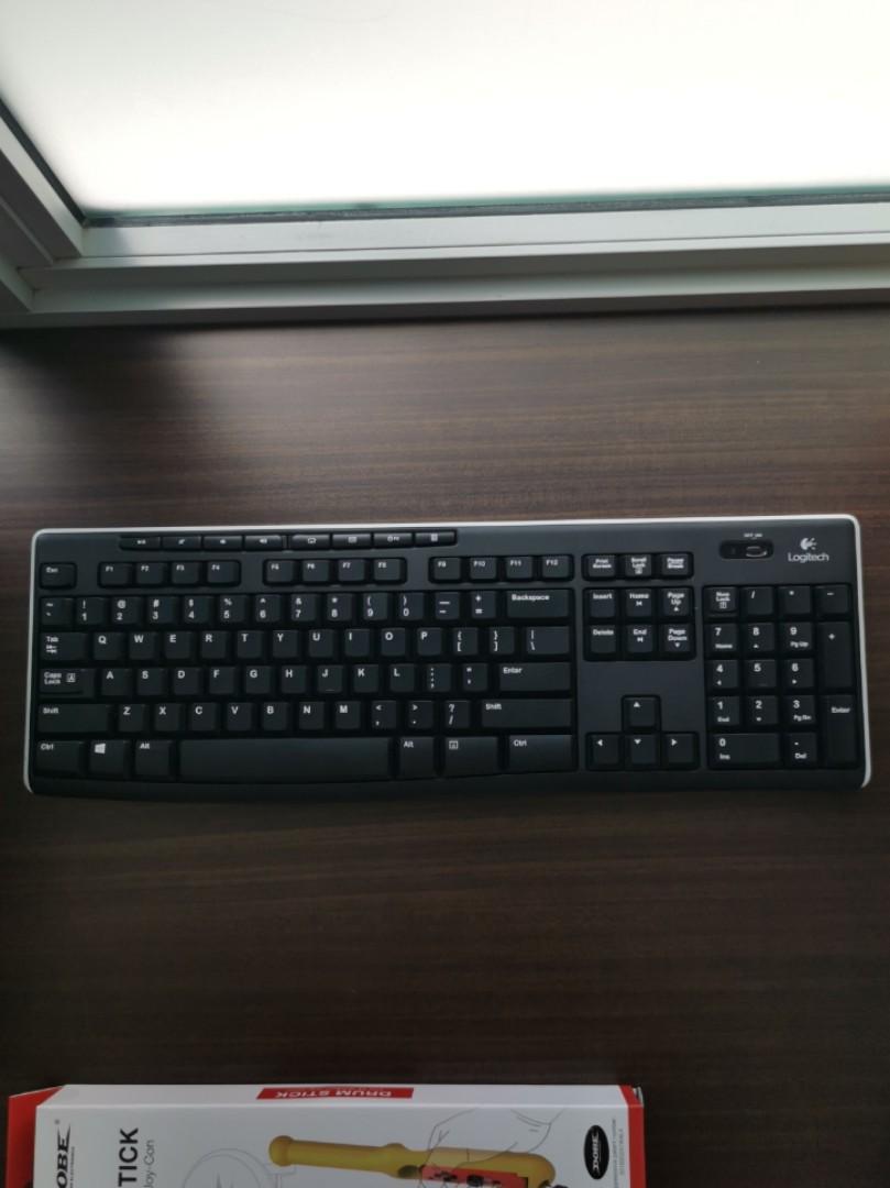 Logitech K270 Wireless Keyboard, Electronics, Computer Parts