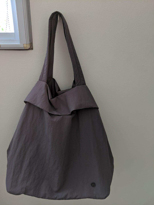 eb585e8d238 Lululemon On My Level Bag in Graphite Purple, Women's Fashion, Bags ...