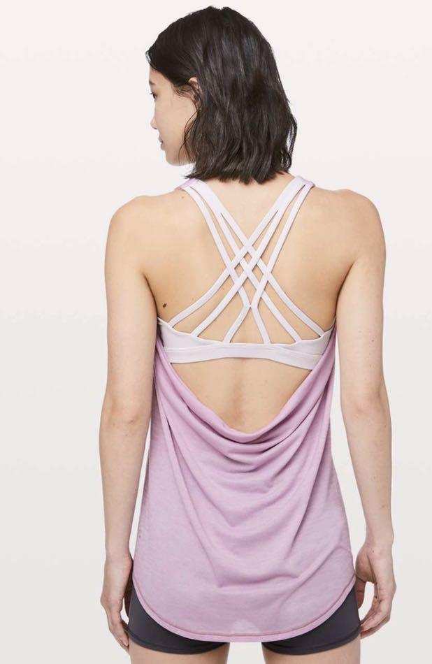 Lululemon Slay in the studio 2-in-1 Tank Singlet SZ 2 Brand new with tags!