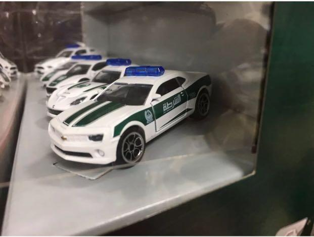 Majorette Dubai Police Super Cars
