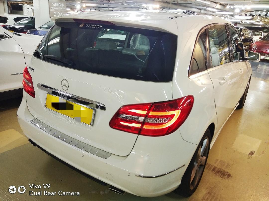 MERCEDES-BENZ B200 BLUEEFFICIENCY 2014