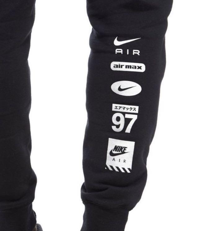 Nike Air Hybrid Jogging Pants Black For