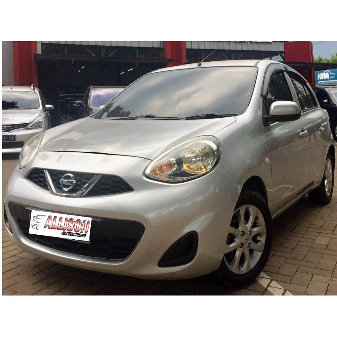 Nissan March 1.2L AT 2013 Silver Dp 27,9 Jt No Pol Genap