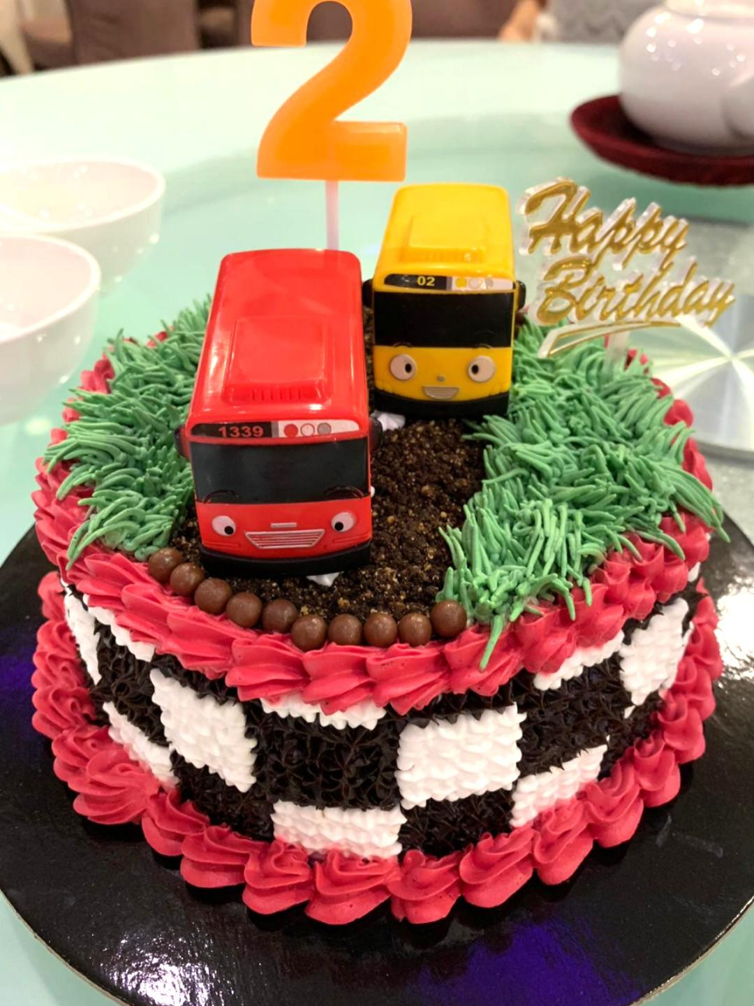 Cool Offer Cars Bus Theme Birthday Cake Food Drinks Baked Goods On Funny Birthday Cards Online Alyptdamsfinfo