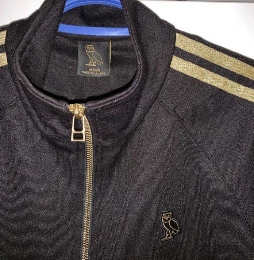OVO Gold/Black Track Jacket 2017 Women's Collection