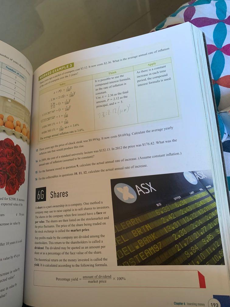 Oxford insight, General Mathematics 11, Preliminary Course