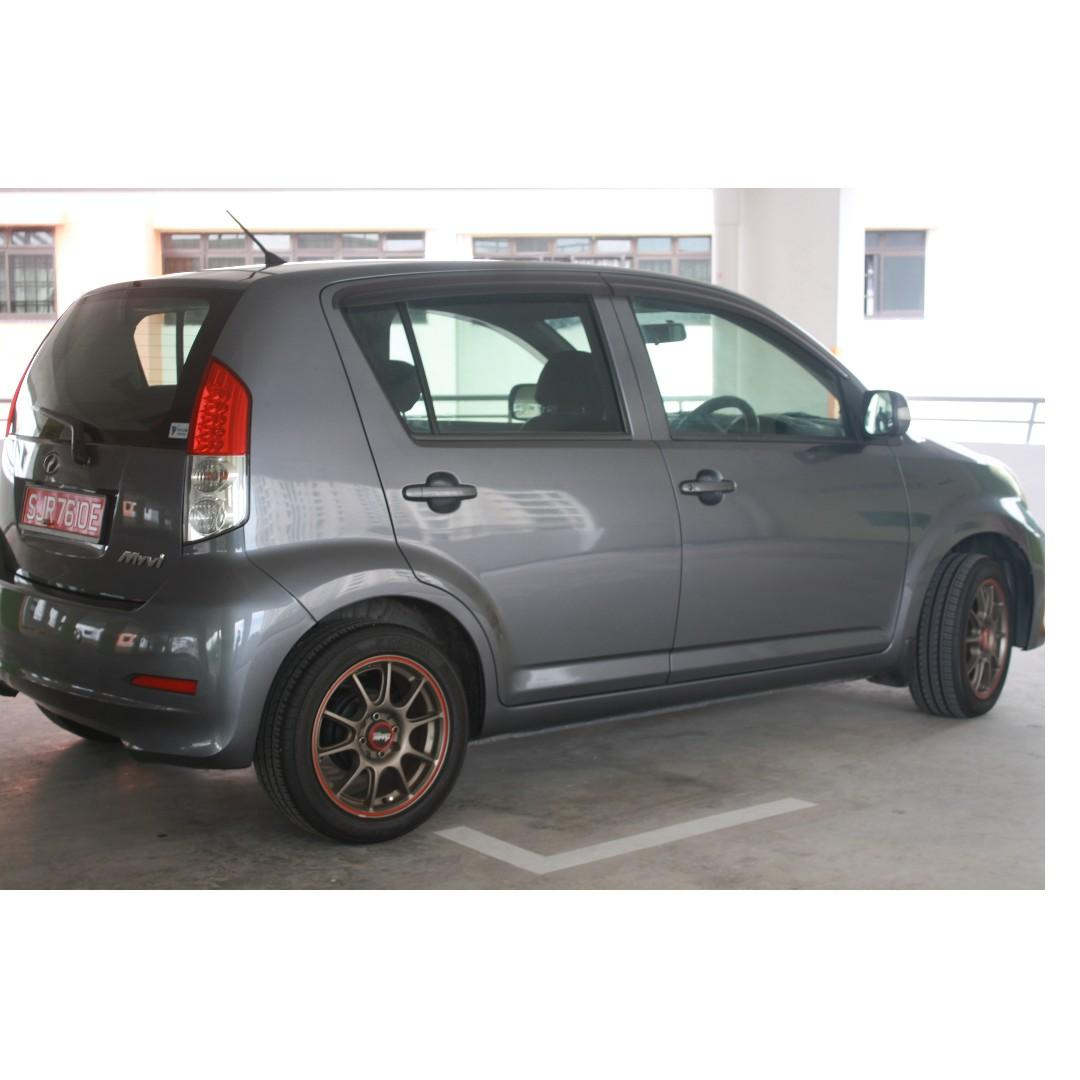 Perodua Myvi OPC offpeak Weekend car Top in Malaysia Plenty Cheap Parts Economical $70road tax p yr NEGO No lowballing Get own Loan Full cash to me owner