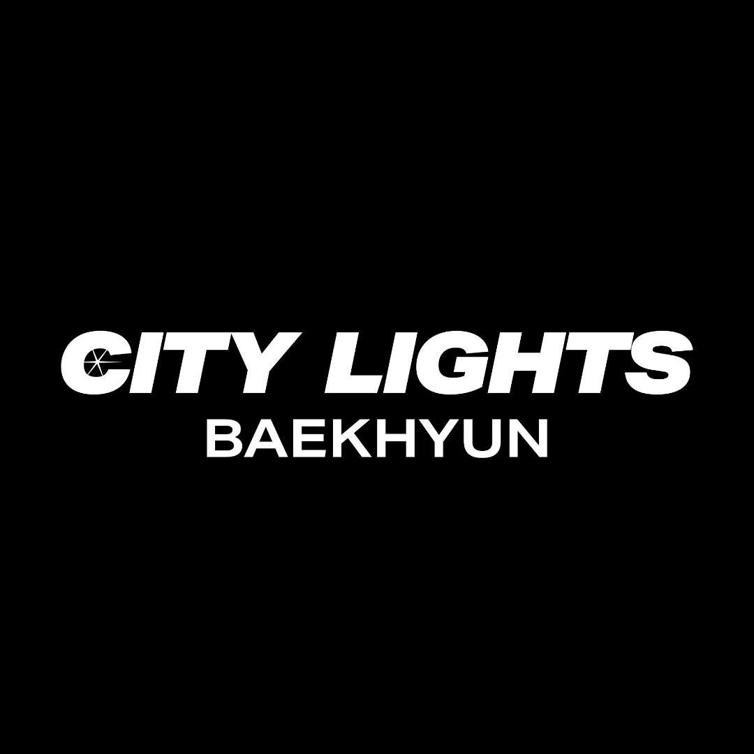 [Poster + Sealed] Exo Baekhyun Solo Album City Lights