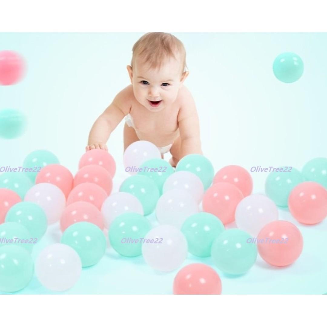 Ready Stock - Pit Balls Ocean Balls Bathtub Balls Colour Balls Tent Balls Playard Balls