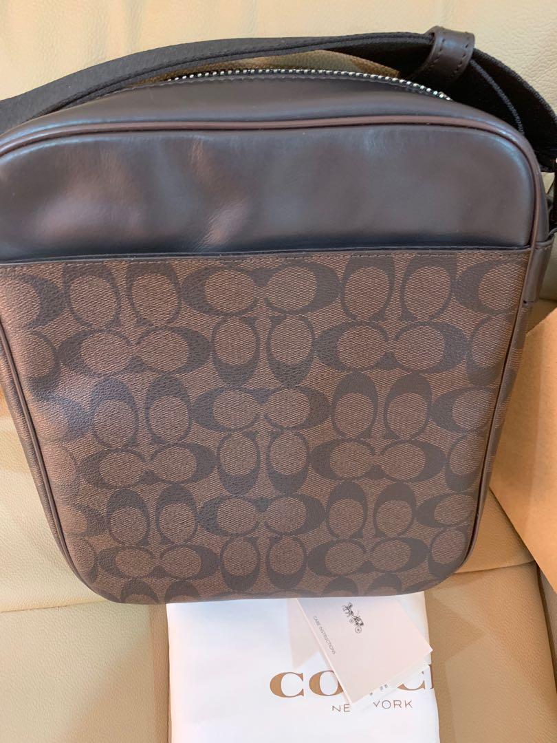 Ready Stock Authentic 54788 coach coach men messenger bag