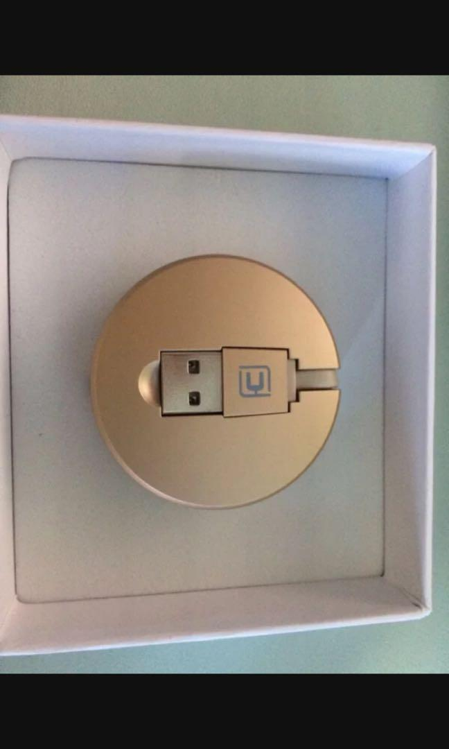 Retractable USB Charger Cable Iphone Android Apple Samsung