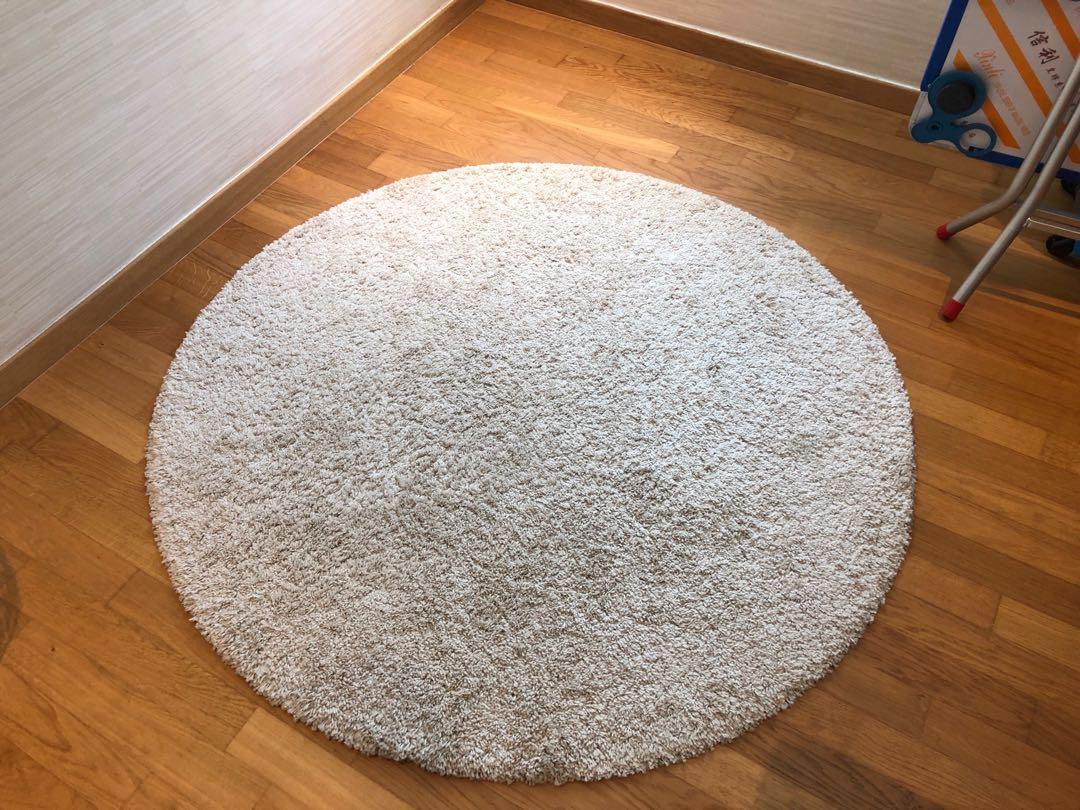 Ikea Stoense Round Rug Furniture
