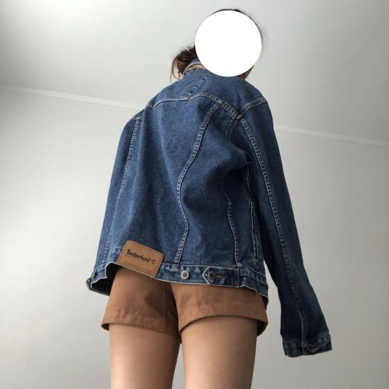 timberland denim jacket