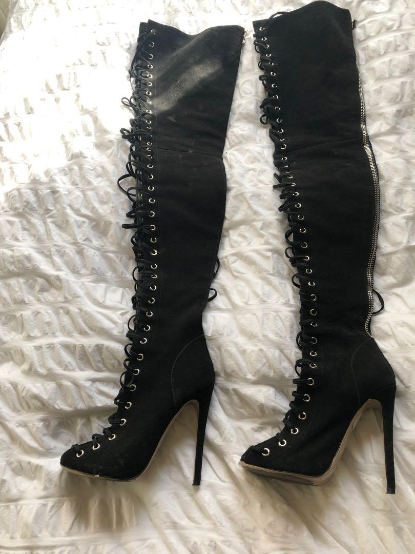 Tony Bianco x Alex Perry collab (Limited edition) - Ariette boots - Size 5