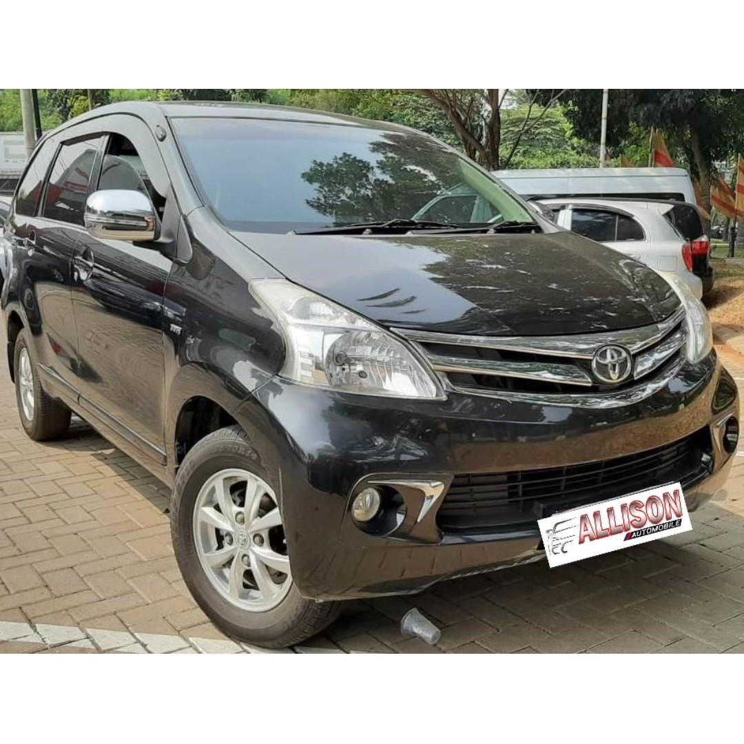 Toyota Avanza G 1.3 AT 2012 Hitam DP 12,9 Jt No Pol Ganjil