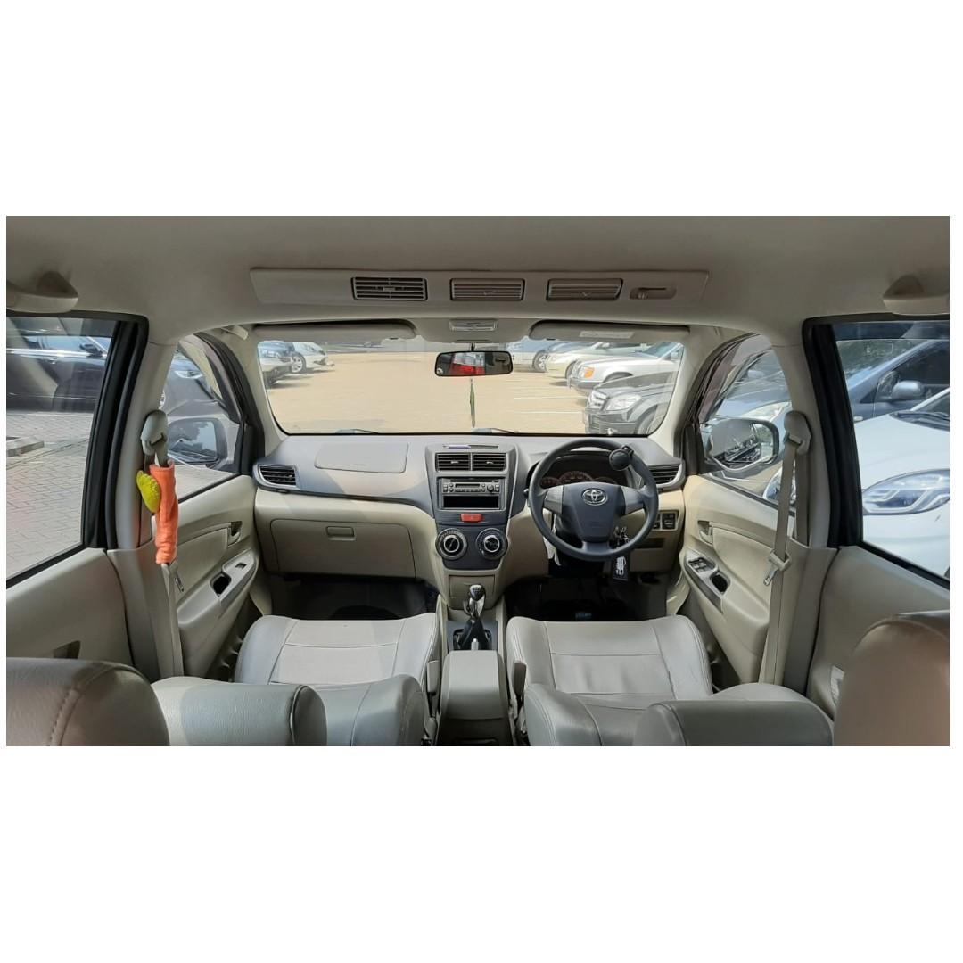Toyota Avanza G 1.3 MT 2014 Hitam KM 25 Rb,  DP 22,9 Jt