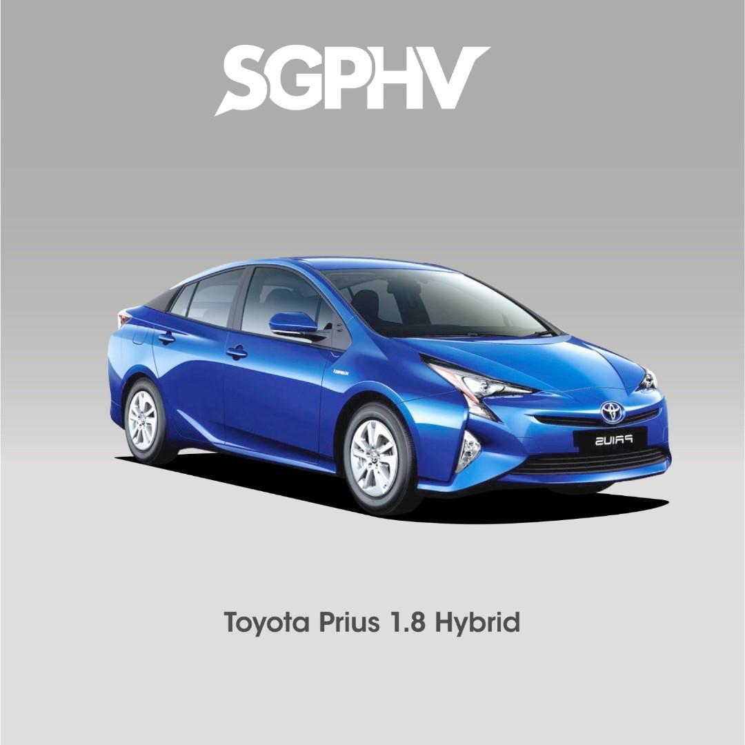 Toyota Prius 1.8L Hybrid - Private Hire / Grab Use