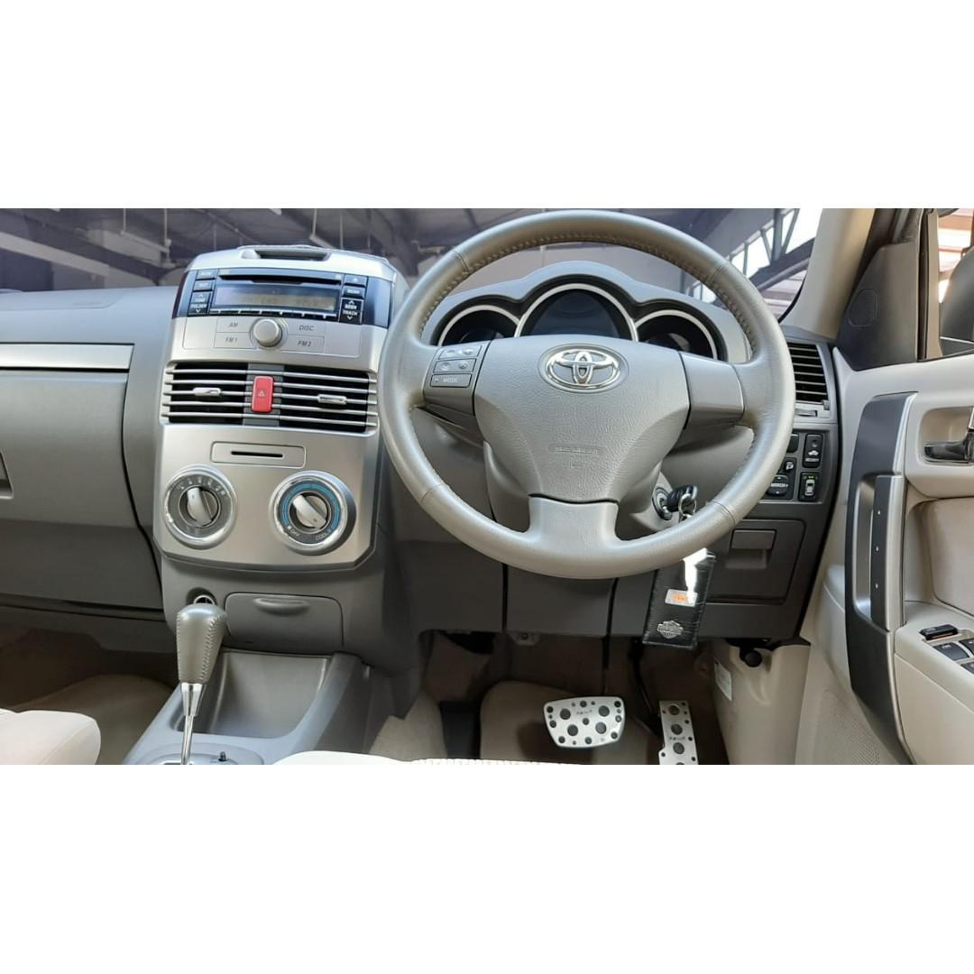 Toyota RUSH S AT 2011 Silver #Dp 26,9 Jt#No Pol Genap#
