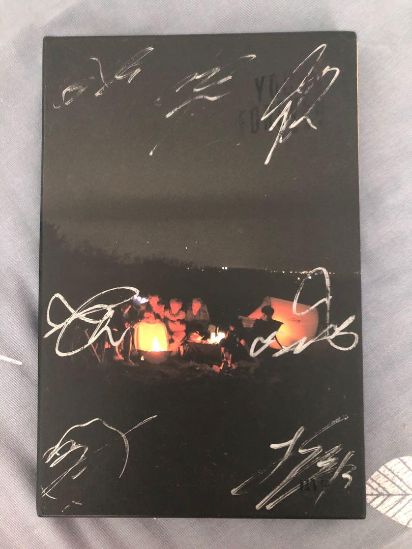 wts: bts young forever (night ver.) signed