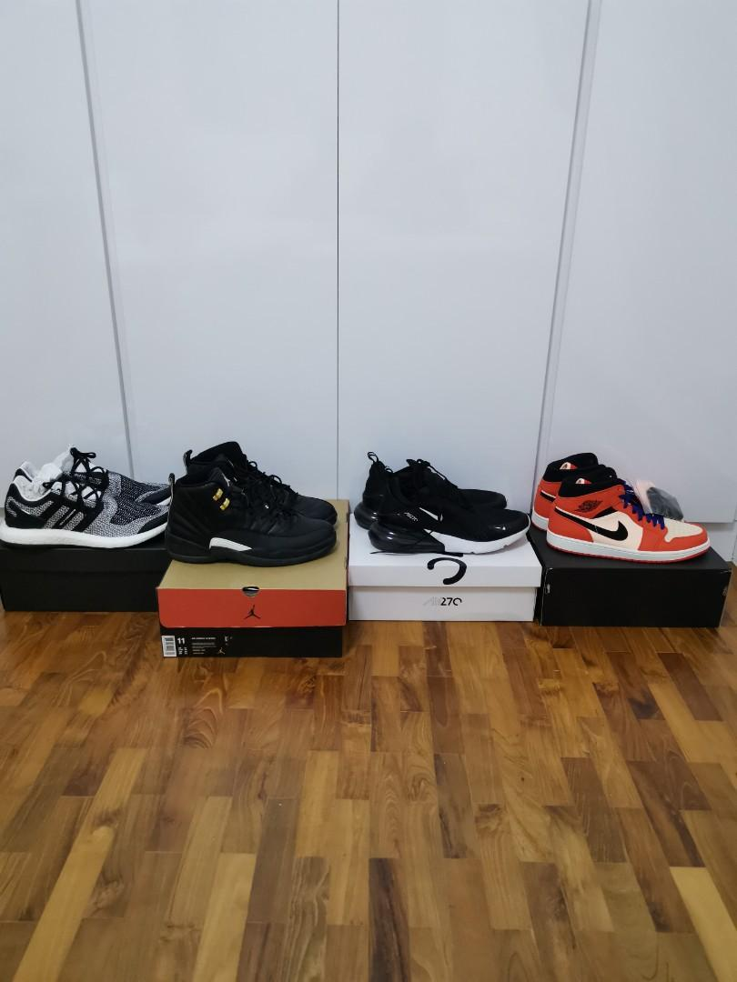 new product 63a1f 23eba WTS wtt sneakers us11 11.5 Jordan 1 12 y3 air max 270, Men's ...