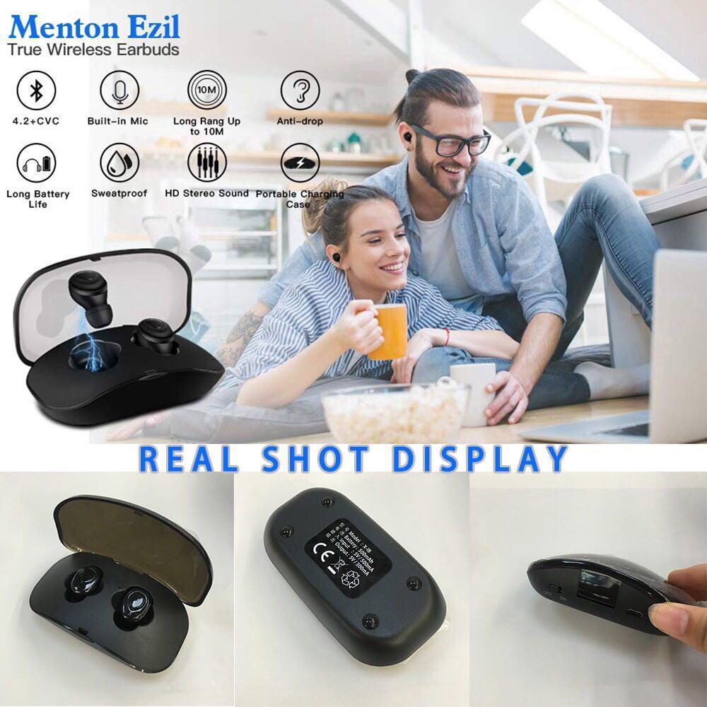 X18S Mini Earbuds Super Small Stereo Earphone TWS Sports Bluetooth 4.2 Headset