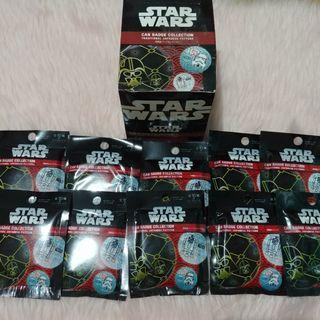 Starwars Can Badge Collectiom Traditional Japanese Pattern