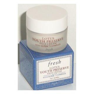 BNIB | FRESH Lotus Youth Preserve Face Cream 7ML