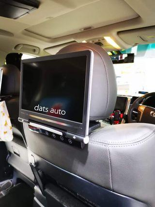 """11""""Super Slim Headrest Monitor👍👍👍Rear entertainment system installed on this wonderful Vellfire! One of the best add on for the family! Keeps long drive fun and entertained!  Have yours installed now!  #datsauto #quality #style #android"""